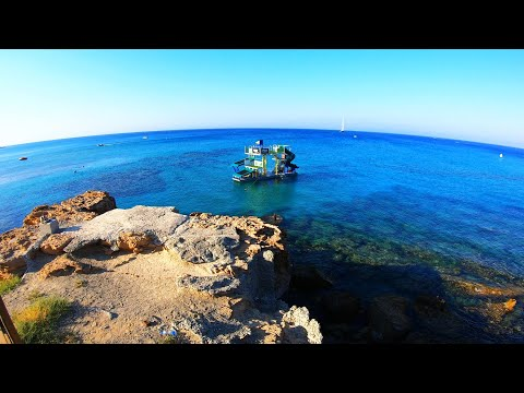 Cyprus Protaras Jungle Float at Fig Tree Bay Beach