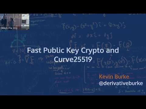 PWLSF - 7/2017 - Kevin Burke on Curve25519 and Fast Public Key Cryptography