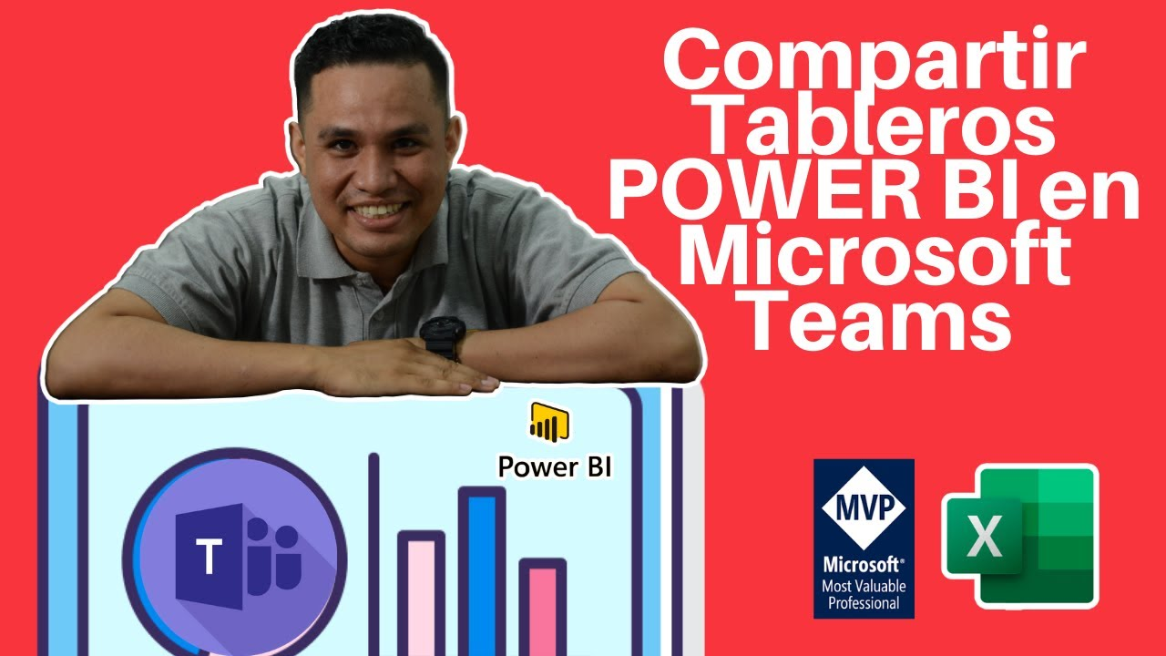 🤝 Compartir Tableros POWER BI en Microsoft Teams | ExcelAprende