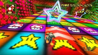 【MKW CT WR】 Disco Fever (Shortcut) - 2:06.668 - Enzo