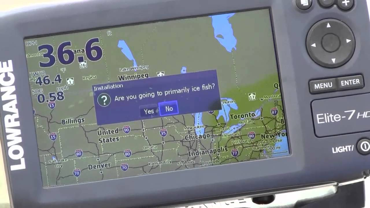 Elite 7 And 5 Hdi Setup Wizard Youtube Wiring Diagram Lowrance Hook