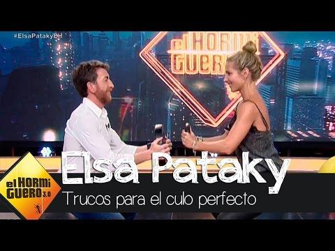 Elsa Pataky nos enseña cómo tener un buen culito respingón  - El Hormiguero 3.0 thumbnail