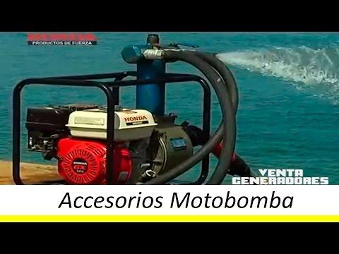 Motobomba (Tutorial) Accesorios, Funcionamiento Y Características