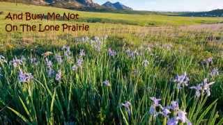Bury Me Not On The Lone Prairie - Gary Lee Tolley