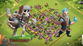 Clash of Clans: Giant Skeleton and Ice Wizard super combo