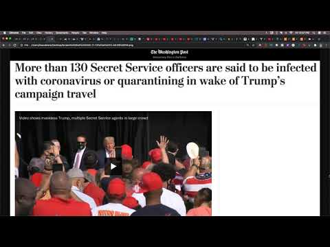 Over 130 Secret Service Officers Sick During Trump's Campaign Travels