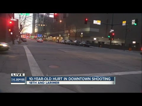 Child among 2 shot New Year's Day in downtown Denver