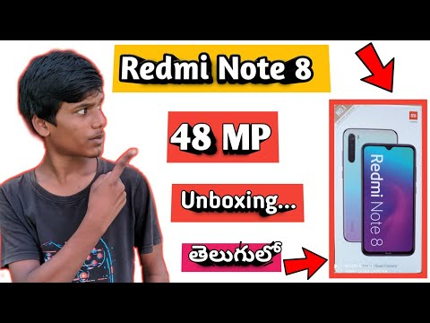 Redmi Note 8 Unboxing Telugu| Redmi Note 8 Unboxing And Review| Redmi Note 8 Overview Telugu|