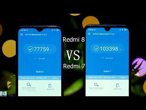 Redmi 8 VS Redmi 7. Сравнение смартфонов.