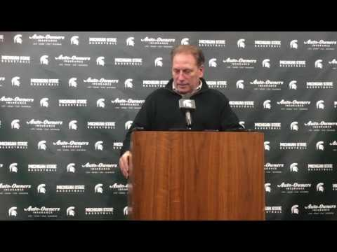 Tom Izzo talks NCAA Tournament bid