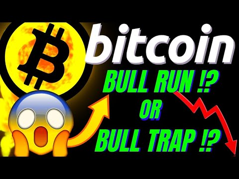 BULL RUN!? or BULL TRAP!? BITCOIN DAILY T.A. Crypto price prediction, analysis, news, trading