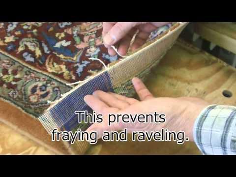 Stephens Carpet Binding And Serging Youtube