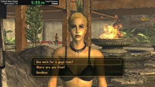 Fallout New Vegas all escorts in 11:36 (WR)