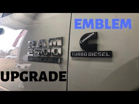 Ram 1500/2500/3500 Emblem Upgrade