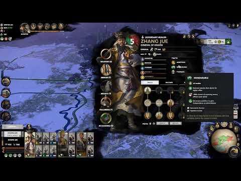 Mandate of Heaven Total War Three Kingdoms Legendary part 1 Zhang Jue |