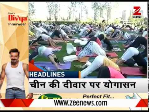 Army performs Yoga at -25 degree temperature in Ladakh | -25 डिग्री तापमान में सेना ने किया योग