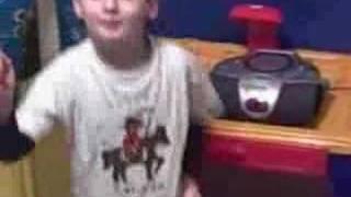 Autistic Kid Dancing to High School Musical 2