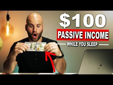 3 Ideas To Start A Passive Income Business & Make Money Online ($100 Per Day)