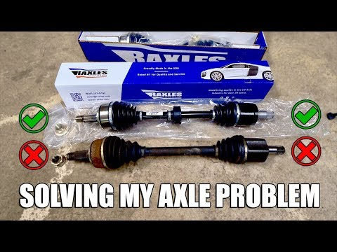 WHICH IS BETTER? Rebuilt OEM Vs Cheap Replacement Axles