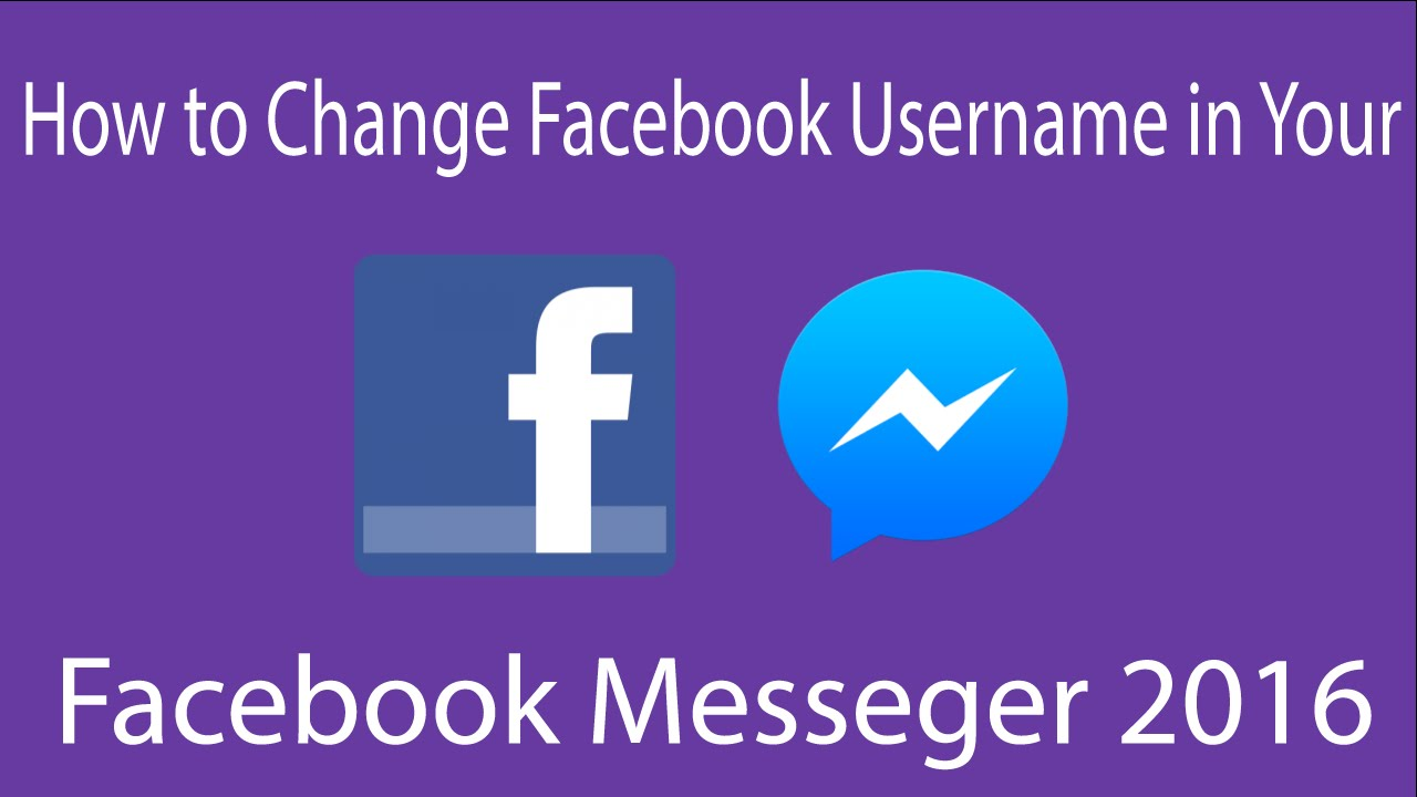 Username In Facebook Messenger 2016 How To Remove