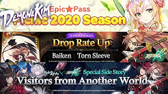 Guilty Gear Collab Start/SC Ras/Destina Rate Up - Epic Seven Patch Notes