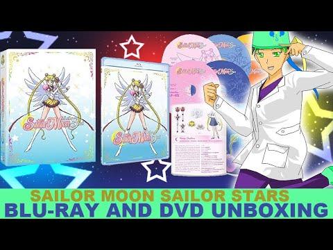 Sailor Moon Sailor Stars DVD/Bluray UNBOXING
