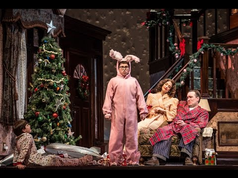 "Mackenzie Lewis is appearing in the off-Broadway production of "" A Christmas Story: The Musical,"" at the Paper Mill Playhouse in New Jersey."