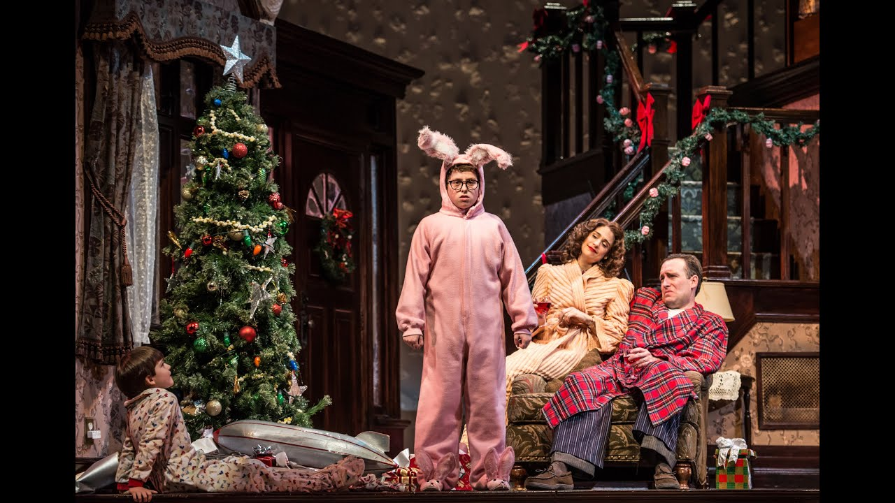 A Christmas Story.A Christmas Story The Musical At Paper Mill Playhouse