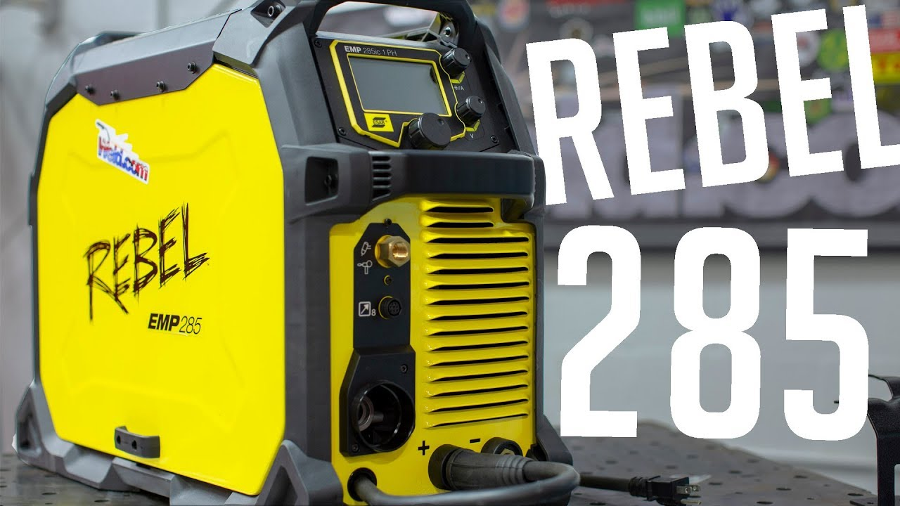 Esab Rebel Emp 285ic Unboxing And Review Part 1 Mig And Flux Core Youtube