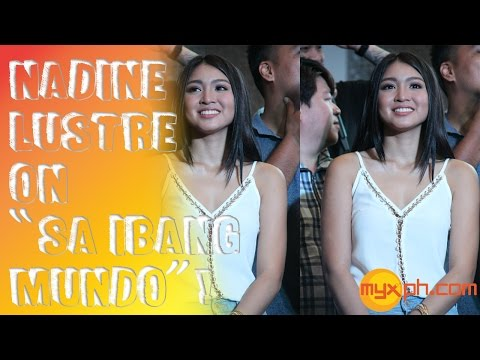 Nadine Lustre talks about her PhilPop 2015 Entry,