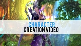 Forsaken World Character Creation - First Look HD