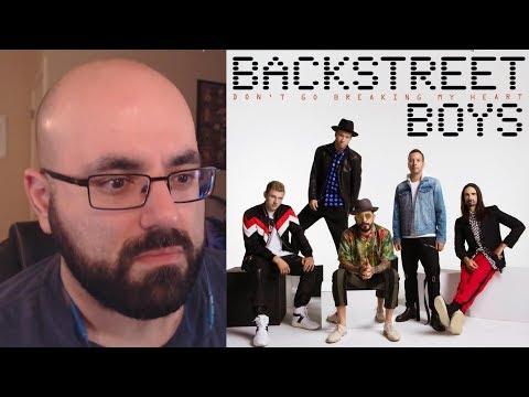 REACTION - Backstreet Boys - Don't Go Breaking My Heart