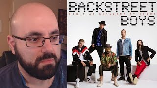 REACTION - Backstreet Boys - Don't Go Breaking My Heart