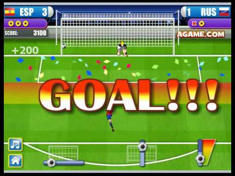 เกมเว็บ : Penalty Shootout กับท่าไม้ตาย