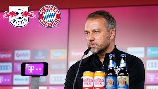 🎙️ Lewandowski-Ausfall im Spitzenspiel | Pressetalk mit Hansi Flick | RB Leipzig - FC Bayern