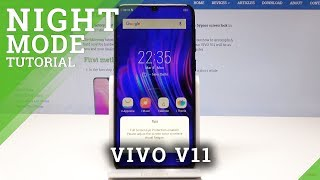 How to Activate Night Mode in VIVO V11 - Eye Protection Mode