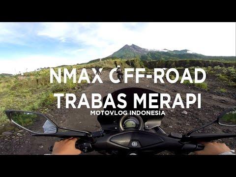 Yamaha NMAX Off-Road Trabas Merapi (Overheat) - Yogyakarta, Indonesia #motovlog02 (Yamaha Jogja)