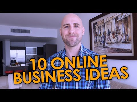 10 Online Business Ideas I'd Start If I Wasn't So Damn Busy!