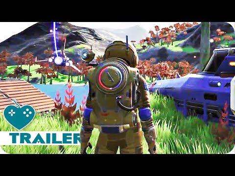 No Man's Sky NEXT Trailer (2018) Multiplayer Update!