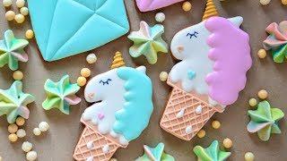 Пряники Единороги ☆ Радужный CandyBar ☆ Unicorn Gingerbreads