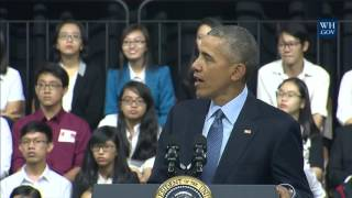 Obamas Town Hall In Vietnam - Full Event