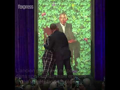 Les Obama dévoilent leurs portraits officiels