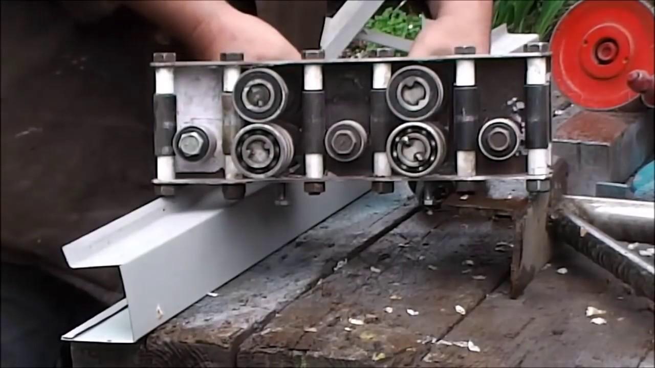 Листогиб роликовый своими руками