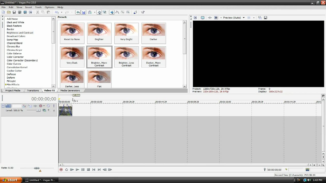 how to cut video in vegas pro