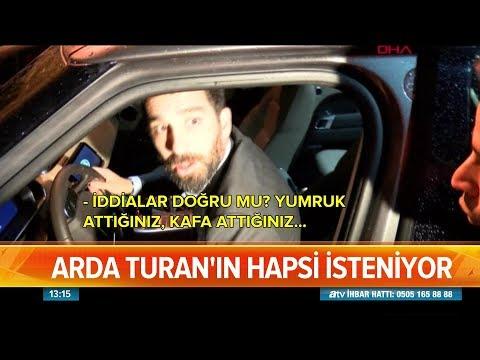 Arda Turan için 12,5 yıl hapis isteniyor! - Atv Haber 16 Ekim 2018