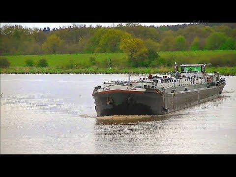 """TMS """"Richard"""" auf der Ems bei Rhede / Tank ship """"Richard"""""""