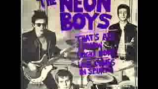 Watch Neon Boys Thats All I Know video
