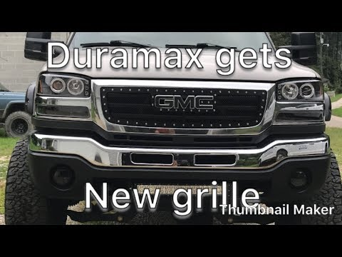 How to install mesh grille insert on 03-06 GMC Sierra