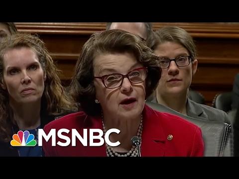 Senator Dianne Feinstein: We Need 'Independent' Attorney General | MSNBC