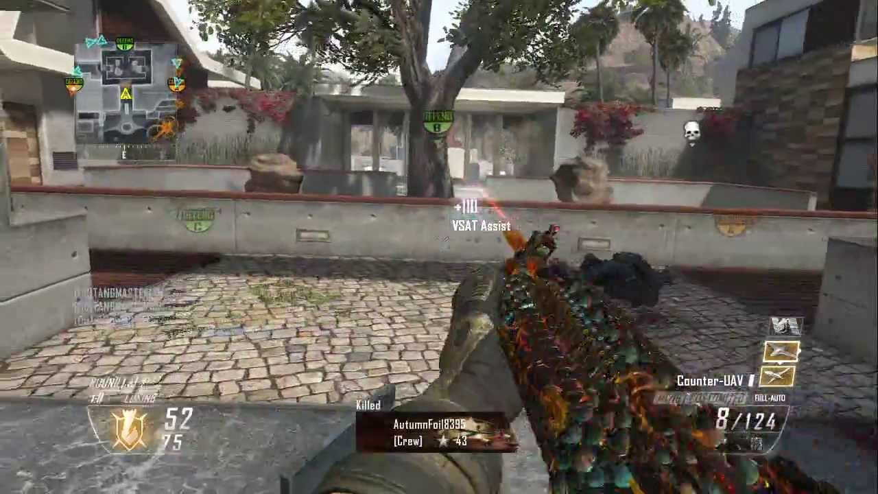 52 gunstreak with M1216 SOLO (Black Ops 2 ) - YouTube M1216 Real Life
